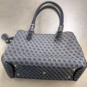 Dooney & Bourke gray and black satchel